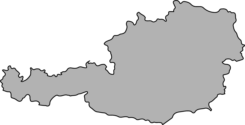 Austria borders image
