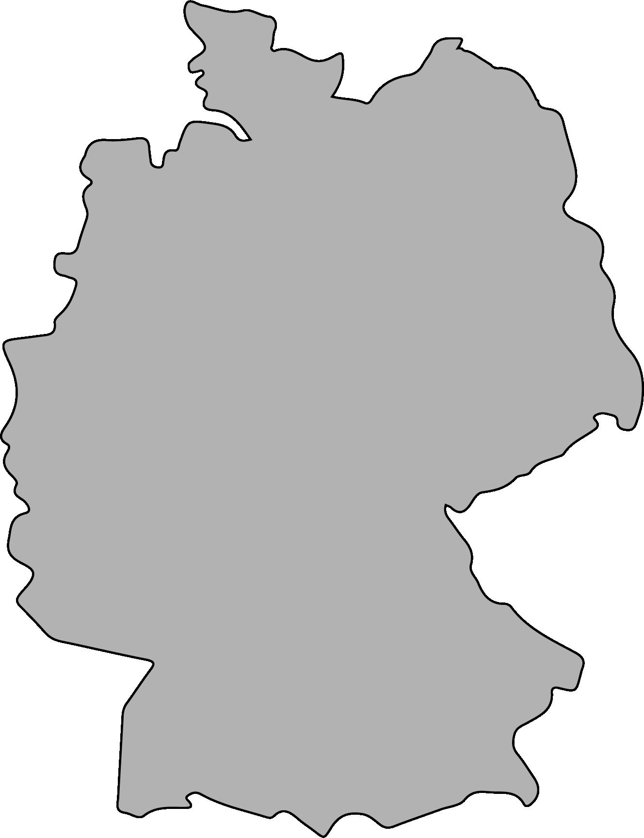 Germany borders image